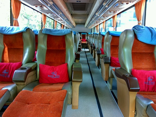 Rejeki Baru Bus Seats