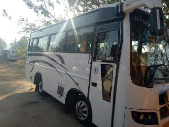 Hire Happyman Tours and Travels Bus