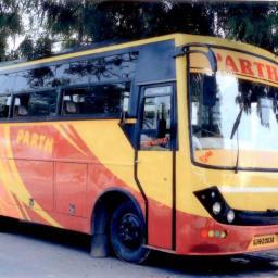Hire  Parth Bus Services Pvt Ltd Bus