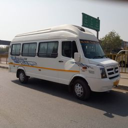 Hire 17 Seater Force Motors  A/C Bus in Ahmedabad