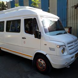 Hire 14 Seater Force Motors  A/C Bus in Chennai