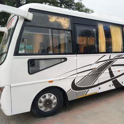 Hire 21 Seater Eicher  A/C Bus in Chennai