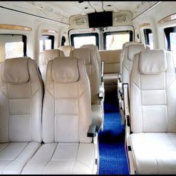 Hire 13 Seater Force Motors  A/C Bus in Mumbai