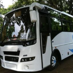 Hire 28 Seater Ashok Leyland  A/C Bus in Hyderabad