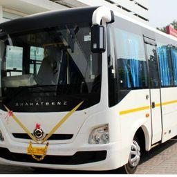 Hire 35 Seater Bharat Benz   A/C Bus in Mumbai