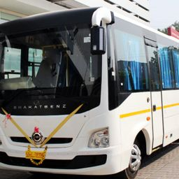 Hire 50 Seater Bharat Benz   A/C Bus in Pune