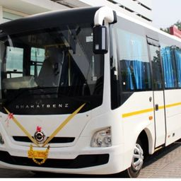 Hire 26 Seater Bharat Benz   A/C Bus in Hyderabad