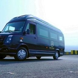 Hire 10 Seater Force Motors  A/C Bus in Pune