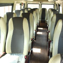 Hire 20 Seater Force Motors  A/C Bus in Ahmedabad