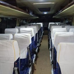 Hire 45 Seater Ashok Leyland  A/C Bus in Delhi NCR