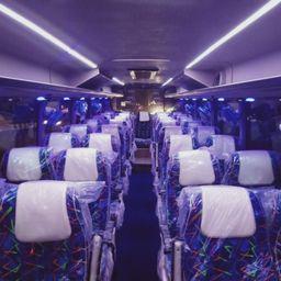 Hire 56 Seater TATA  A/C Bus in Delhi NCR