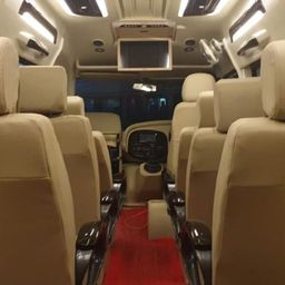 Hire 11 Seater Force Motors  A/C Bus in Delhi NCR