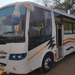 Hire 22 Seater Swaraj Mazda  A/C Bus in Hyderabad
