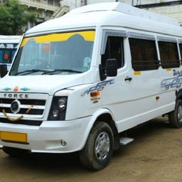 Hire 12 Seater Force Motors  A/C Bus in Hyderabad