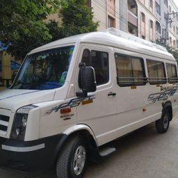 Hire 17 Seater Force Motors   Bus in Hyderabad