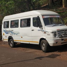 Hire 17 Seater Force Motors   Bus in Pune