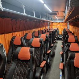 Hire 27 Seater Ashok Leyland  A/C Bus in Pune