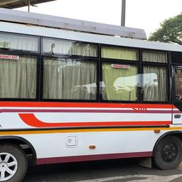 Hire 19 Seater Ashok Leyland  A/C Bus in Mumbai