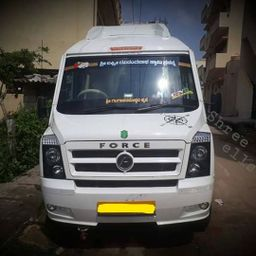 Hire 12 Seater Force Motors  A/C Bus in Mysore