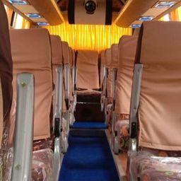 Hire 25 Seater Swaraj Mazda  A/C Bus in Bangalore